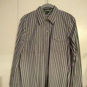 Ralph Lauren button up  women's shirt.